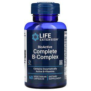 Complexo B Life Extension 60 Cápsulas Vegetais