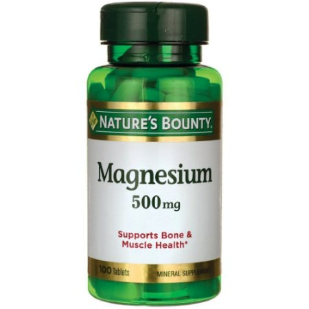 Óxido de Magnésio 500 mg 100 cápsulas Nature's Bounty