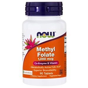 Methyl Folate 1000mcg 90 cápsulas