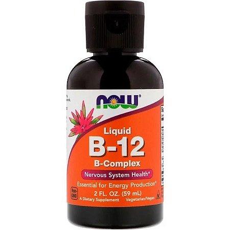 Vitamina B12 Líquida NOW FOODS 59ml