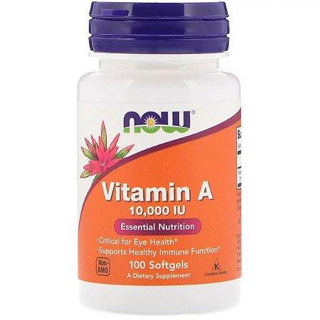 Vitamina A 10,000UI 100 Softgels