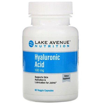 Ácido Hyaluronico Lake Avenue 100mg 60 Cápsulas