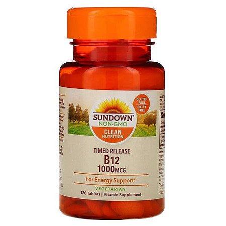 Vitamina B12 SUNDOWN NATURALS 1000mcg 120 Tablets