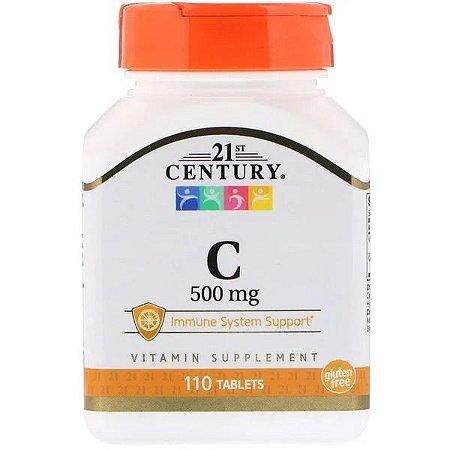 Vitamina C - 21 CENTURY - 500mg 110 Tablets