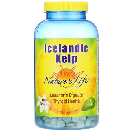 KELP Nature's Life 1000 Tablets