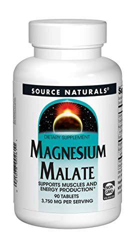 Magnésio Dimalato Importado USA 1250mg 90 Tablets