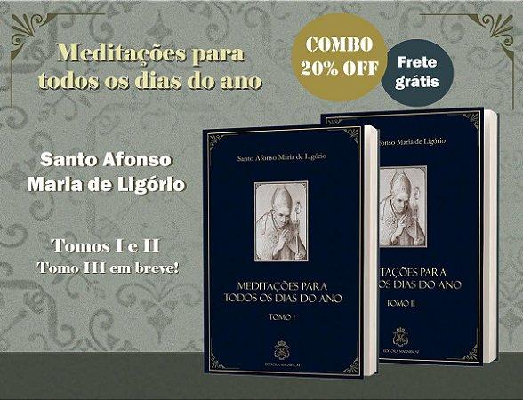 COMBO MEDITAÇÕES SANTO AFONSO VOLS 1 E 2