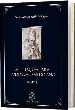 MEDITAÇÕES SANTO AFONSO TOMO III