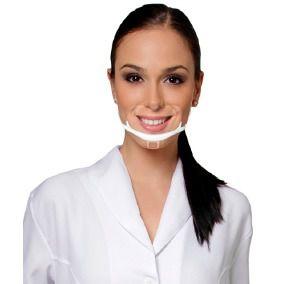 Mascara Acrilica Higiênica Profissional Protetora