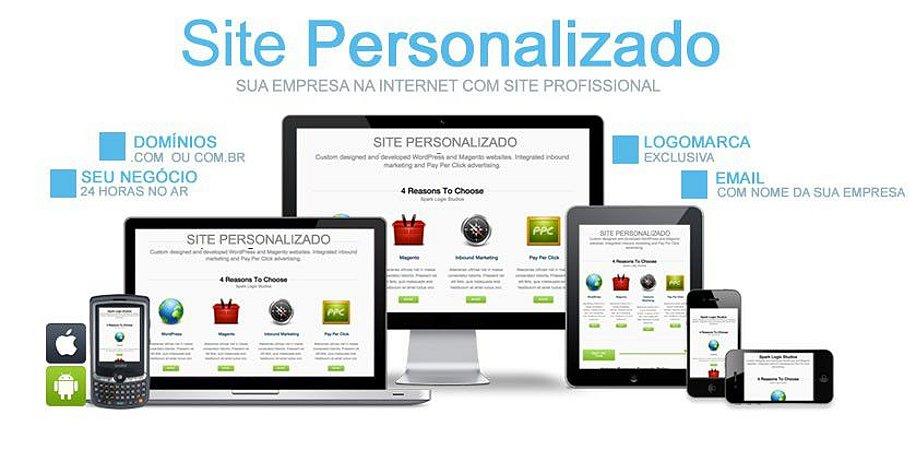 Site Personalizado P/ Revendas Brazil SMS
