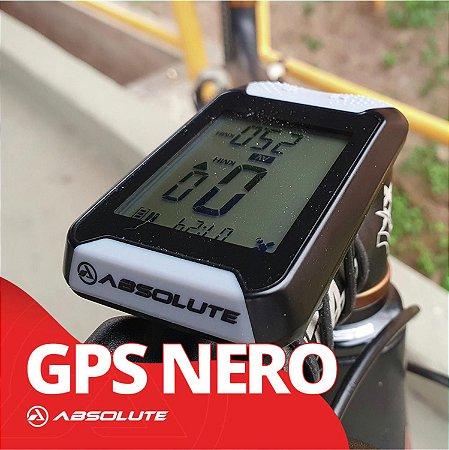 Gps Absolute Nero Ciclocomputador Mtb Speed Bike Velocimetro