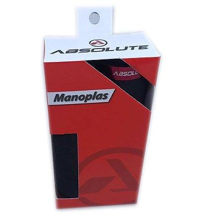 Manopla Absolute F444  128mm  Preta com Prata