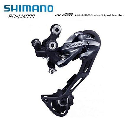 Cambio Shimano Traseiro Alivio Rd-m4000 Sgs 9v