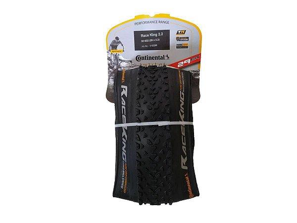 Pneu de Bicicleta Continental Race King 29 x 2.2 Mtb Kevlar