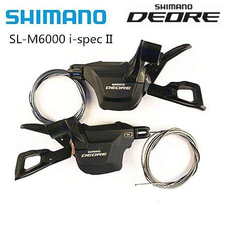 Alavanca Trocador Rapid Fire Shimano Deore Sl M6000 2/3x10v