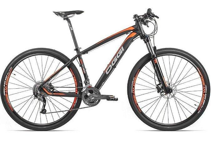 Bicicleta Oggi 7.4 29 SLX 22 V Verde/Laranja 2017