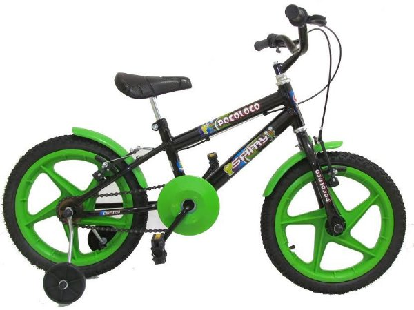 Bicicleta infantil com rodinha Samy Aro 16 Menino e Menina