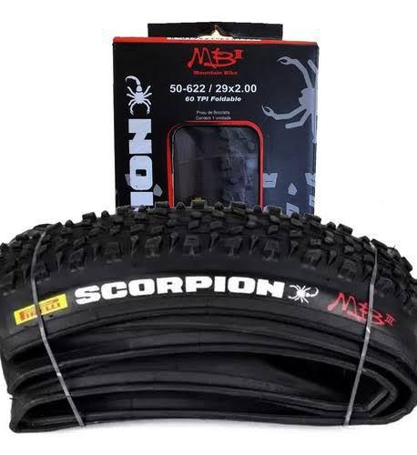 Pneu Pirelli Scorpion Mb3 Kevlar Mtb 29x2.00 60psi Preto