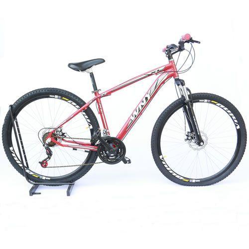 Bicicleta Wendy Alumínio Aro 29 freio a disco e suspensão