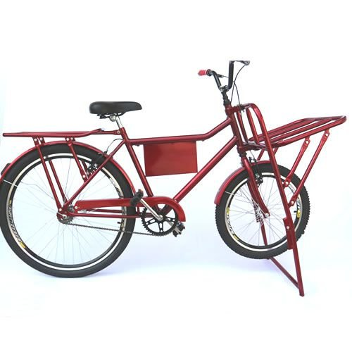 Bicicleta Cargueiro Aro 26 Cargo Reforçada Samy Food Bike cargueira
