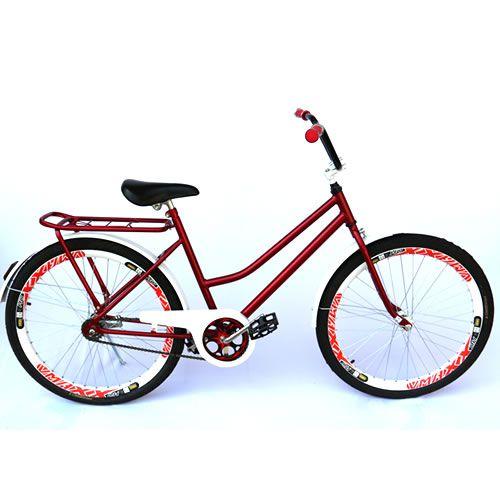 Bicicleta Modelo Verona Customizada Aro 26 Guidão Cross
