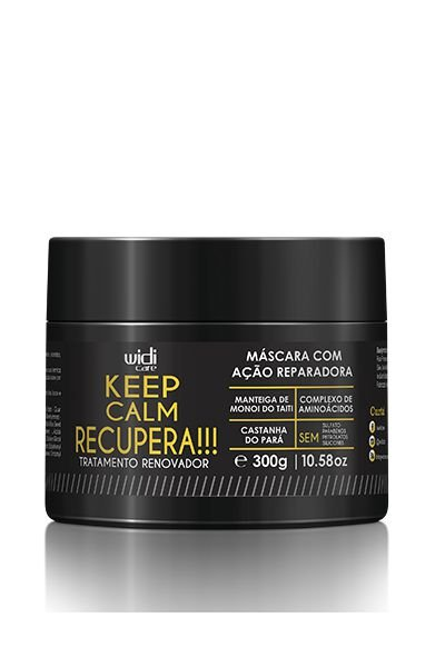 MÁSCARA KEEP CALM RECUPERA!!! • 300g•