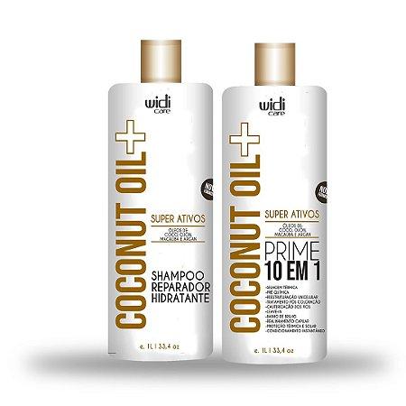 Combo profissional - Coconut Oil+