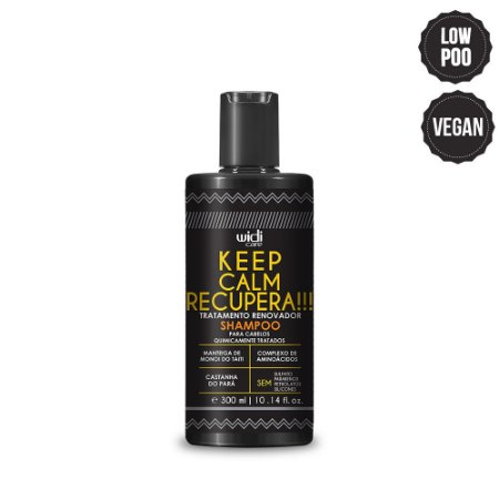 KEEP CALM RECUPERA SHAMPOO - WD - 300 ML