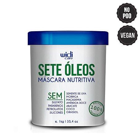 SETE ÓLEOS MÁSCARA NUTRITIVA - 1KG