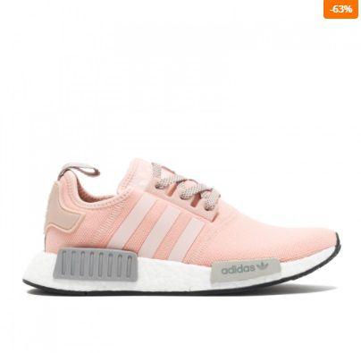 adidas nmd r1 cinza e rosa