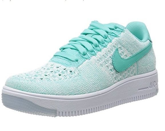 TÊNIS NIKE AIR FORCE 1 FLYKNIT LOW  VERDE