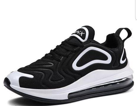 Tênis Nike Air Max 720 Preto e Branco