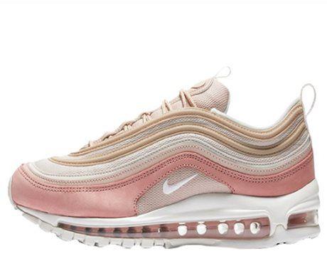 air max 97 feminino rosa e branco