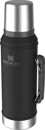 Garrafa Térmica Classic Stanley 1 Litro Preto
