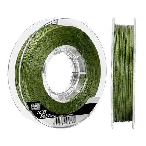 Linha Multi Marine Sports Vexter 8X 0,25mm 30lbs 300m Verde