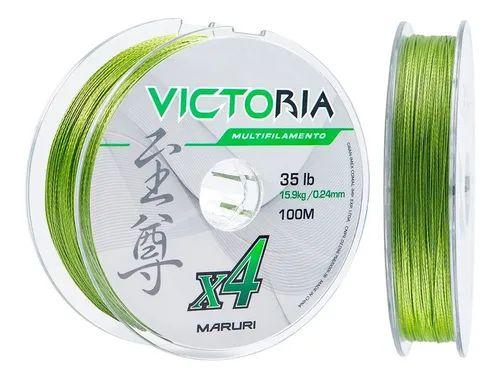 Linha Multi Maruri Victoria 4x 0.18mm 24lb 100m