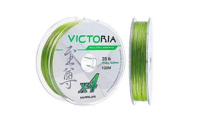 Linha Multi Maruri Victoria 4x 0.24mm 35lb 100m
