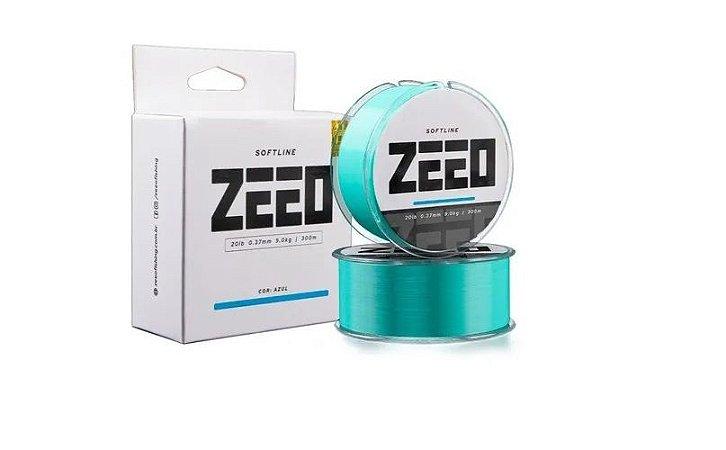 Linha Monofilamento Softline Zeeo Azul 0.37mm20lb 300m