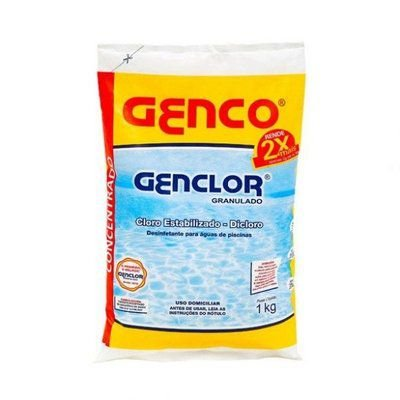 Genclor Cloro Granulado Estabilizado Genco 1Kg