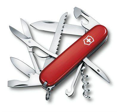 Canivete Victorinox Huntsman Vermelho 15 Funções 1.3713