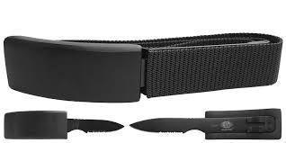 Cinto Tatico Canivete Com Faca Oculta Albatroz