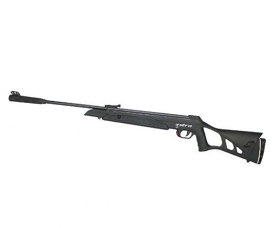 Carabina de Pressão CBC Nitro-X1000 -calibre 5,5 mm -Oxidada