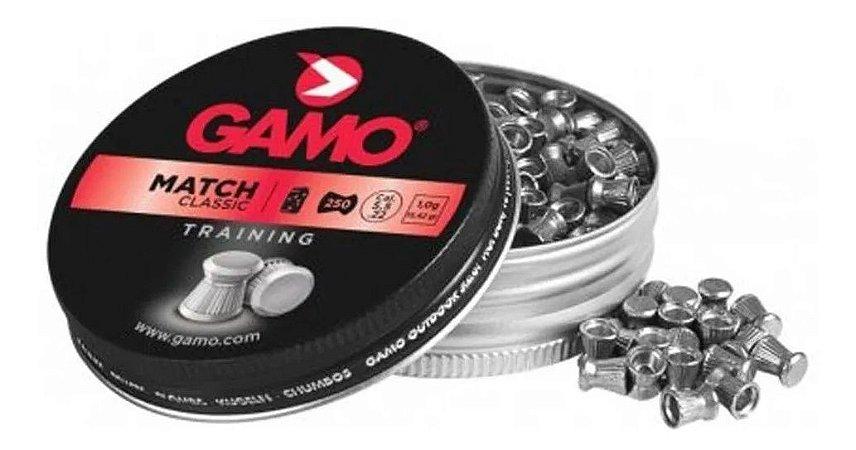 Chumbinho Gamo 5,5mm Match Classic Training 250un