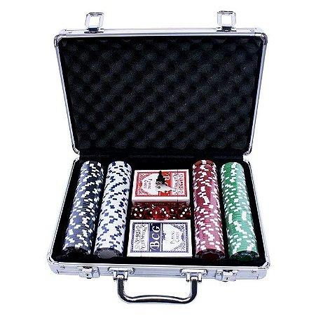 Jogo De Poker Western Com Maleta 200 Fichas
