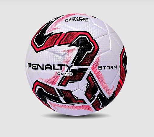 Bola Campo Penalty Storm Fusion X Vermelha