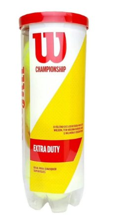 Bola de Tênis Wilson Championship Extra Duty - 3 Unidades