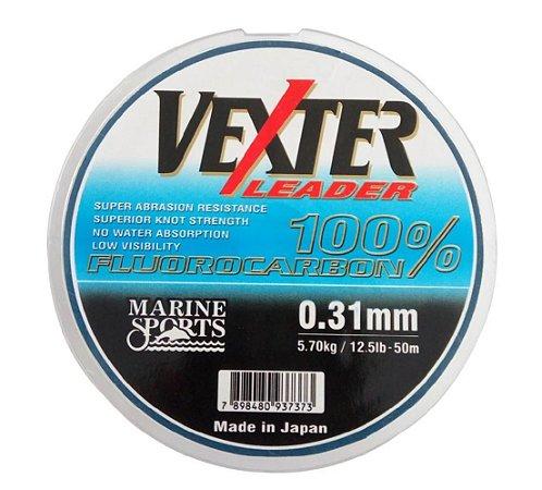 Linha Marine Sports Vexter Leader Fluorocarbon - 0.31mm