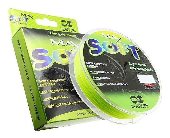 Linha Maruri Max Soft  13.40 lb - 0.30mm 300m