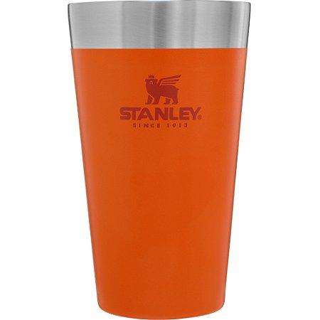 Copo Térmico de Cerveja Stanley Laranja - 473 ML