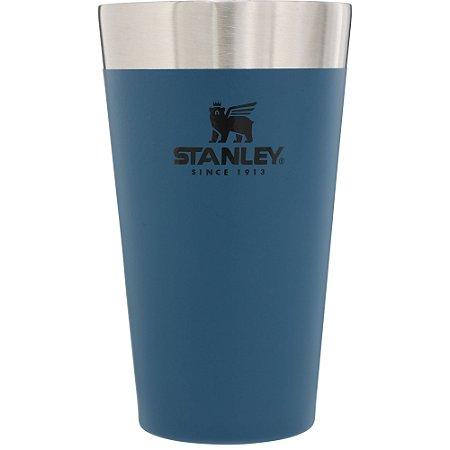 Copo Térmico de Cerveja Stanley Azul - 473 ML